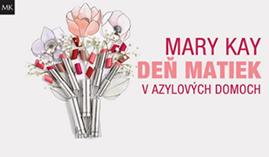 Mary Kay v azylových domoch