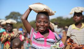 Spoločnosť Nu Skin prekonala míľnik 500 miliónov darovaných jedál deťom v núdzi